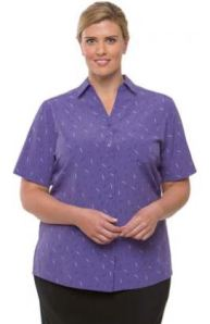 Health care lilac shirt